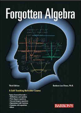 forgotten-algebra